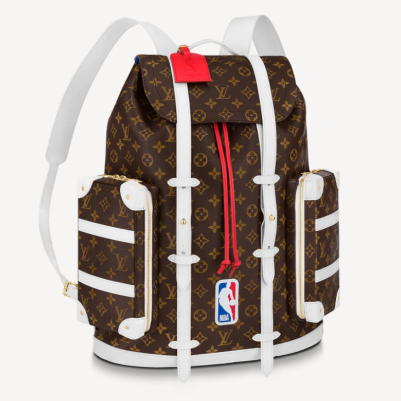 LV M45580 NBA联名系列 LVXNBA CHRISTOPHER SOFT TRUNK 双肩包