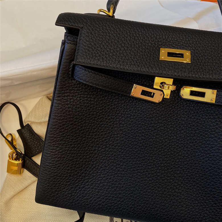 爱马仕hermes kelly25黑金(上)