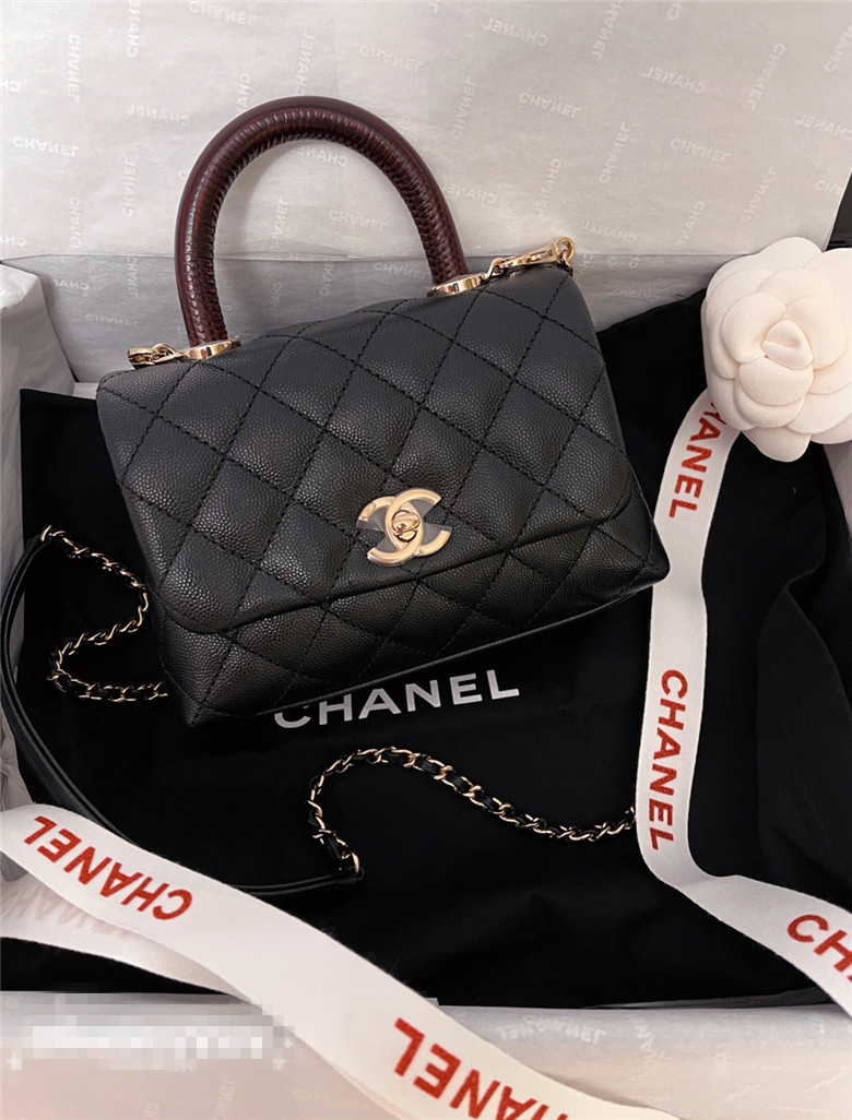 Chanel mini Coco handle 超可爱的包
