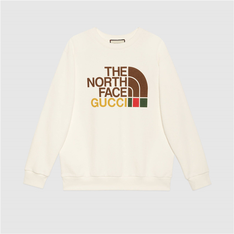 The North Face x Gucci 617964 XJDBY 9095 联名系列女士棉质卫衣