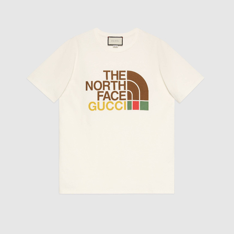 Gucci 615044 XJDBZ 9095 The North Face x Gucci联名系列 棉质T恤